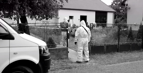 Vražda v obci Kysta.
