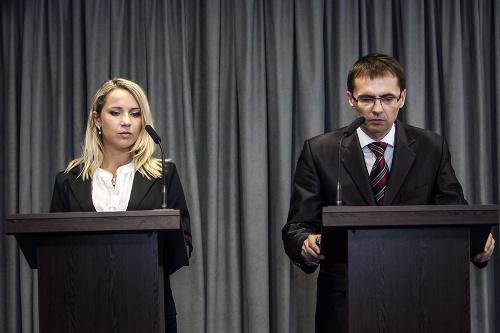 Katarína Svrčeková a Ľubomír