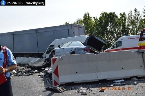 Mrazivá dopravná nehoda si