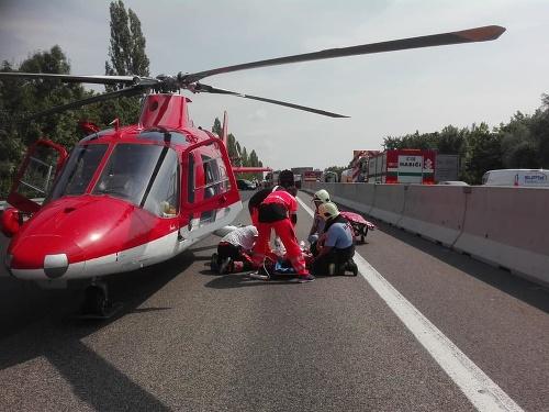 K hromadnej dopravnej nehode