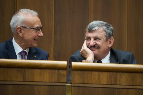 Štefan Zelník a Anton