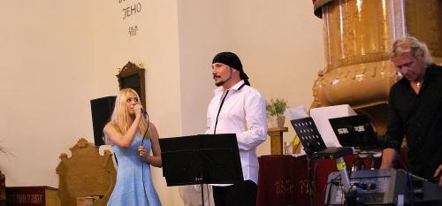 Bohuš Matuš s Lucinkou