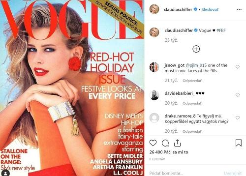 Claudia Schiffer kedysi.