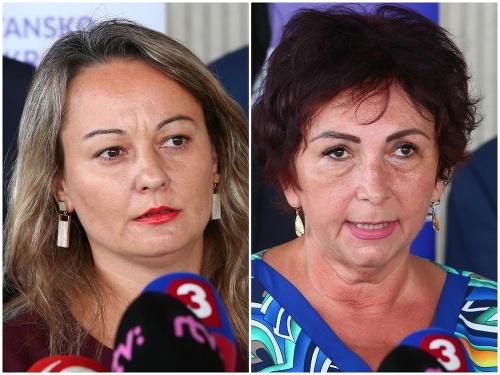Soňa Gaborčáková a Elena