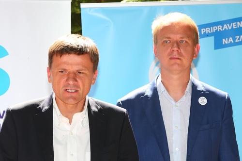 Andrej Hlina a Miroslav