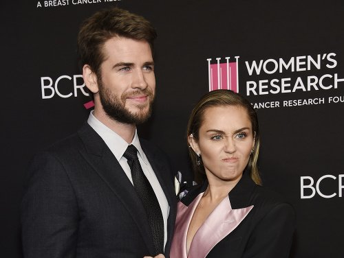 Liam Hemsworth a Miley