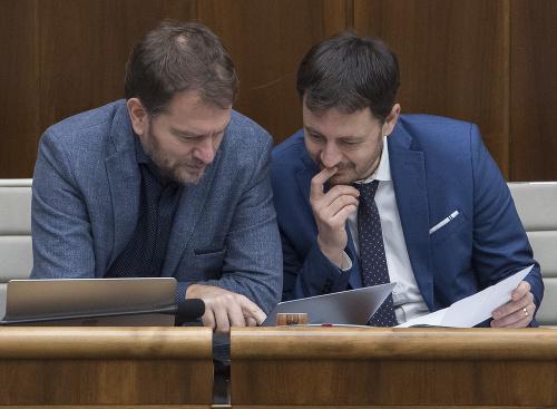 Igor Matovič a Eduard