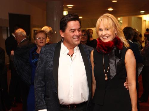 Marian Kočner s manželkou