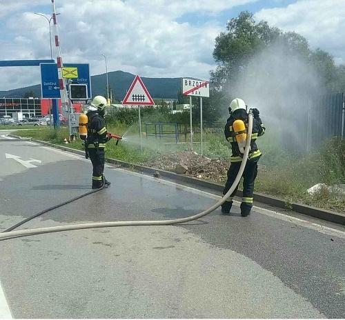 Zásah hasičov z Rožňavy