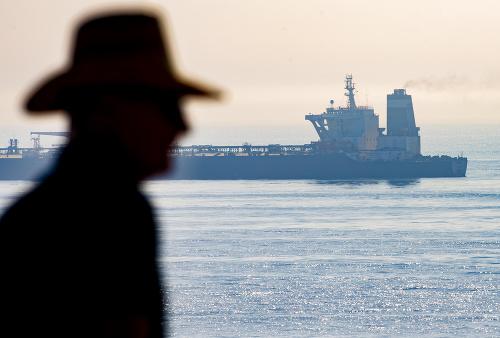 Iránsky tanker cieľom západného