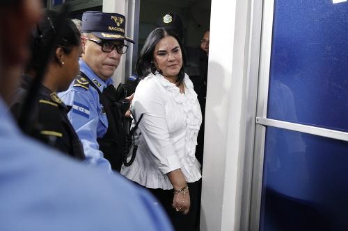 Bývalá prvá dáma Hondurasu