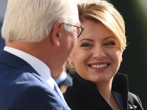 Na snímke slovenská prezidentka