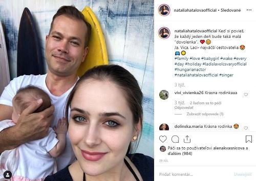 Natália Hatalová s manželom