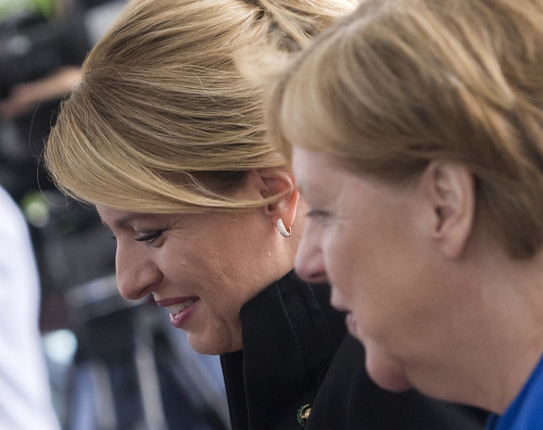 Zuzana Čaputová a Angela
