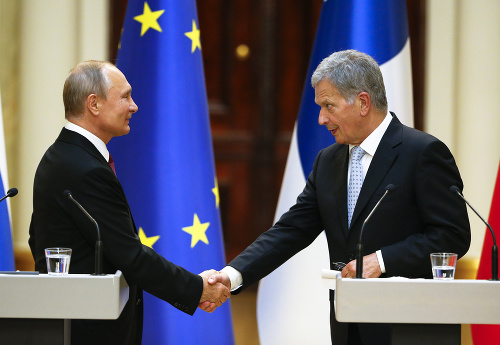 Vladimir Putin a Sauli