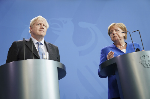 Angela Merkelová a Boris