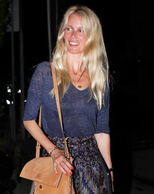 Claudia Schiffer je prirodzene