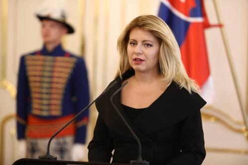 Mimoriadne vyhlásenie prezidentky Čaputovej:
