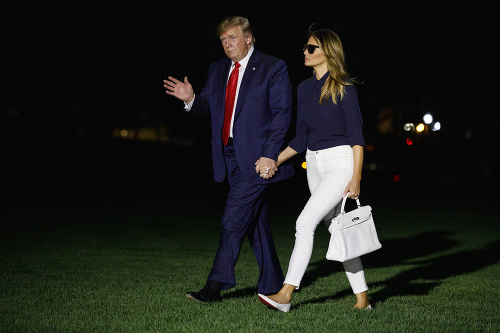 Donald Trump so svojou