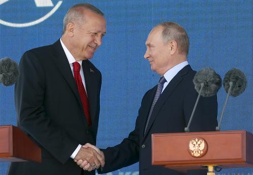 Putin s Erdoganom otvorili