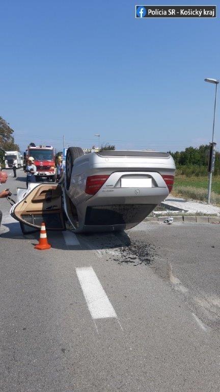 Nehoda v Michalovciach