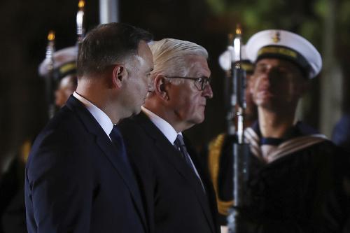 Frank-Walter Steinmeier a Andrzej