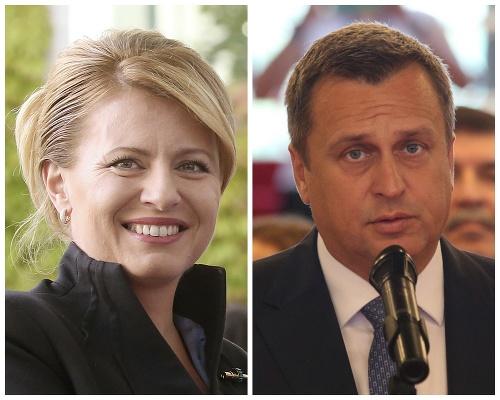 Zuzana Čaputová a Andrej