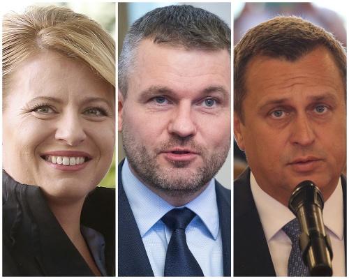 Zuzana Čaputová, Peter Pellegini,