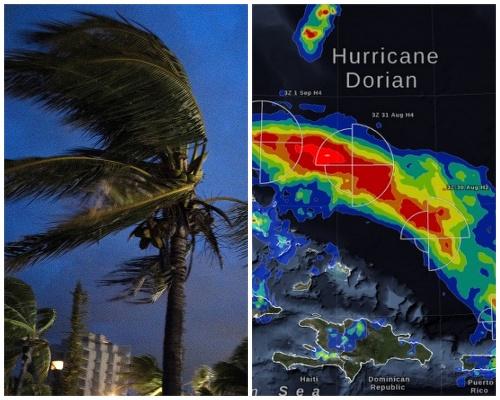 Hurikán Dorian.