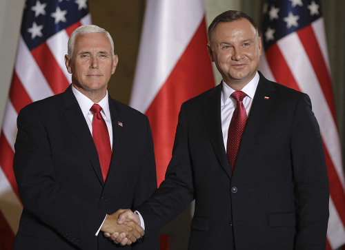 Mike Pence a Andrzej