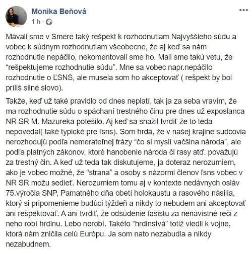 Ficovo VIDEO o Mazurekovi