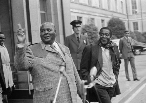 Robert Mugabe a Joshua