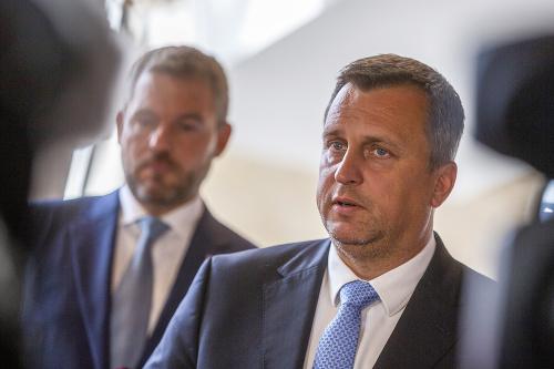 Andrej Danko a Peter