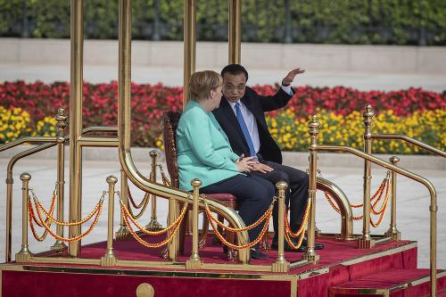 Angela Merkelová a čínsky