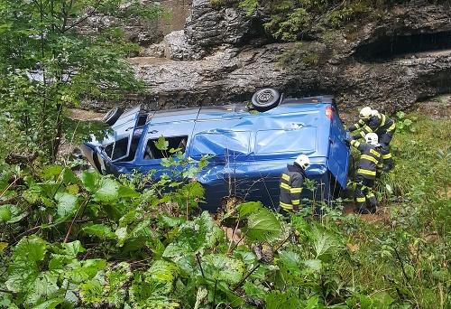 Dopravná nehoda v Demänovskej
