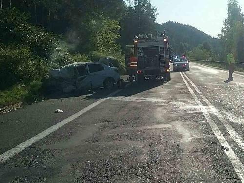 Vážna dopravná nehoda kamióna