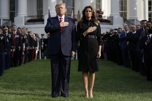 Donald Trump a Melania