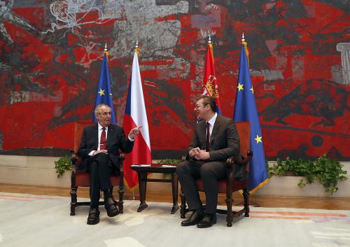 Miloš Zeman a Aleksandar