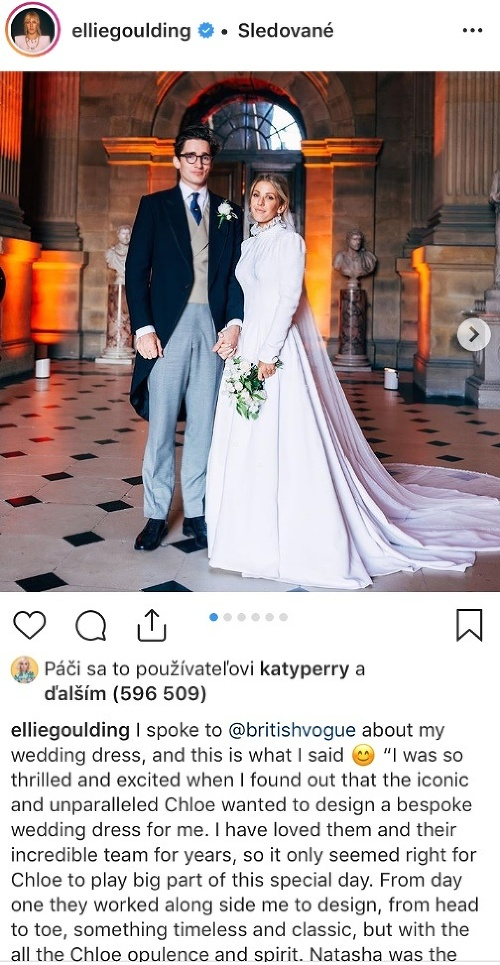 Ellie Goulding s manželom.