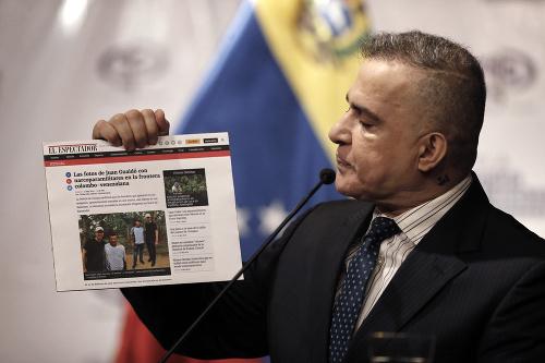 Venezuelský generálny prokurátor Tarek