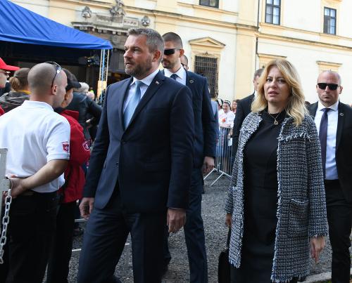 Predseda vlády Peter Pellgerini,