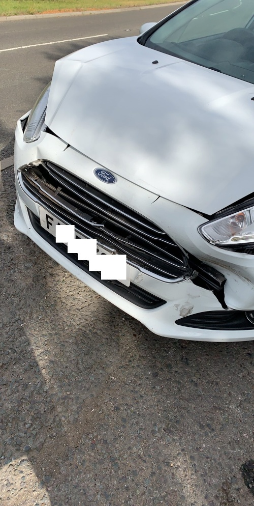 Vodička (21) mala nehodu