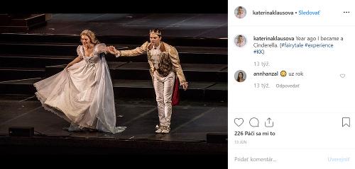 Kateřina Klausová stvárnila muzikálovú