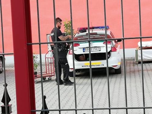 Policajti v čase služby
