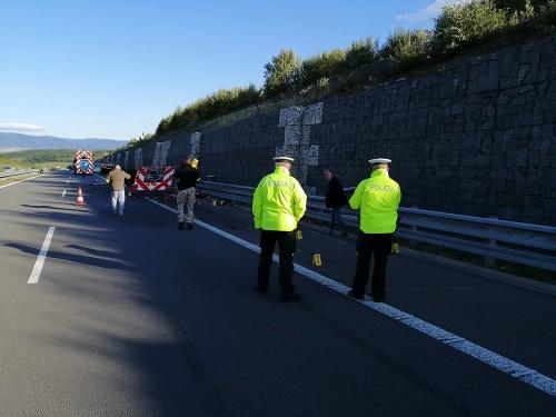 Tragická nehoda na diaľnici