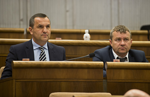 Dušan Tittel a Tibor