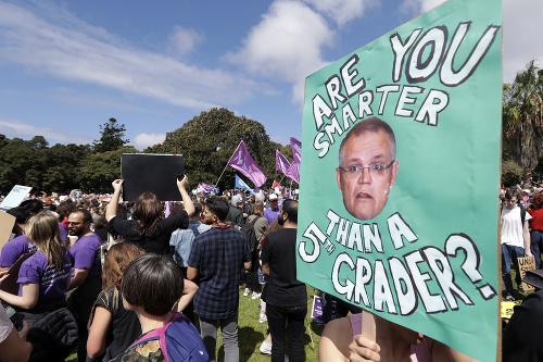 Austrálski školáci otvorili celosvetový