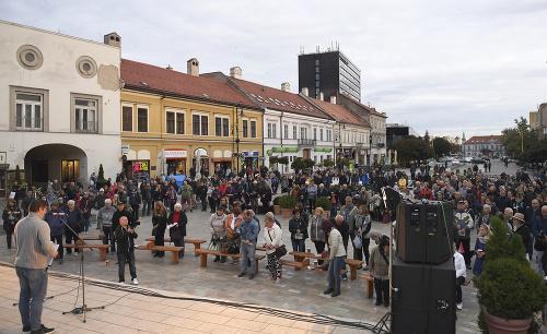 Zhromaždenie Za slušné Slovensko: