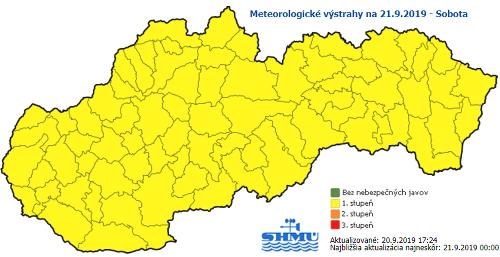 Meteorologické výstrahy