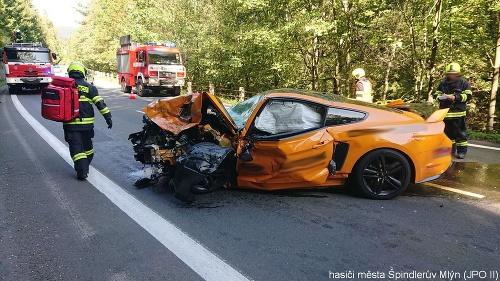 Pri zrážke dvoch áut